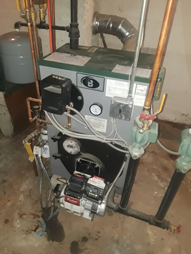 Gardner, MA - Clean and check Peerless oil heating unit
