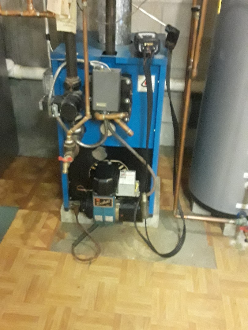 Leominster, MA - Clean and check Trianco oil heating unit