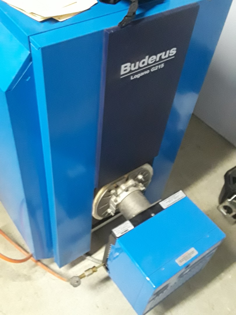 Hudson, MA - Clean and check Buderus oil boiler