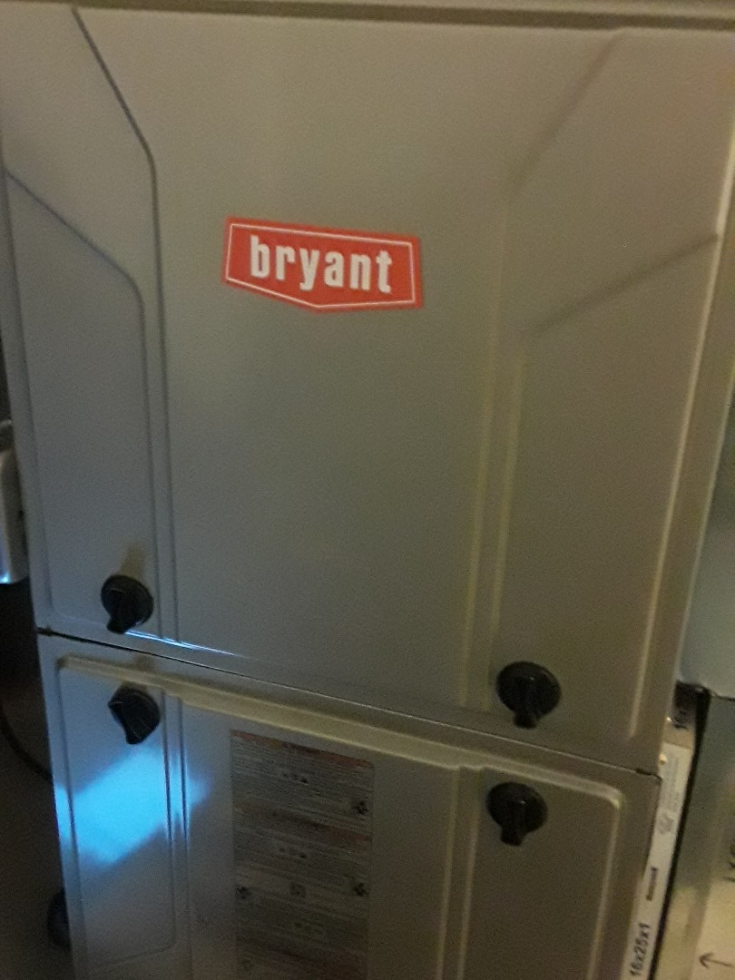 West Boylston, MA - Clean and check Bryant gas heating unit