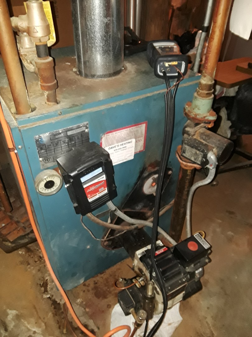 Fitchburg, MA - Clean and check Burnham oil heating unit