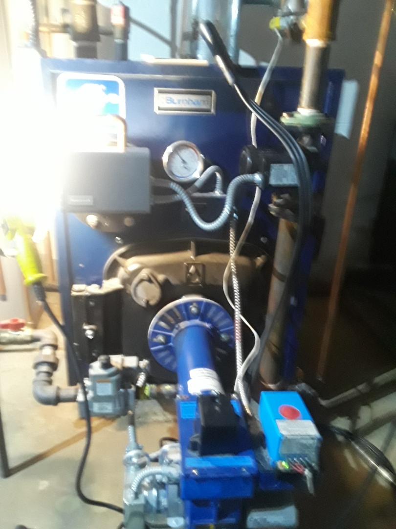 Holden, MA - Clean and check Burnham gas boiler