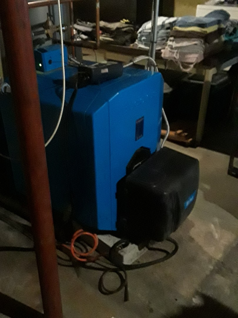 Fitchburg, MA - Clean and check Buderus oil boiler
