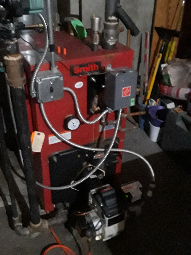 Leominster, MA - Clean and check HB Smith oil boiler