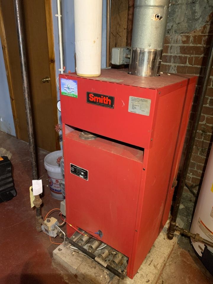 Hudson, MA - Performed preventative maintenance procedures on smith nat gas steam boiler