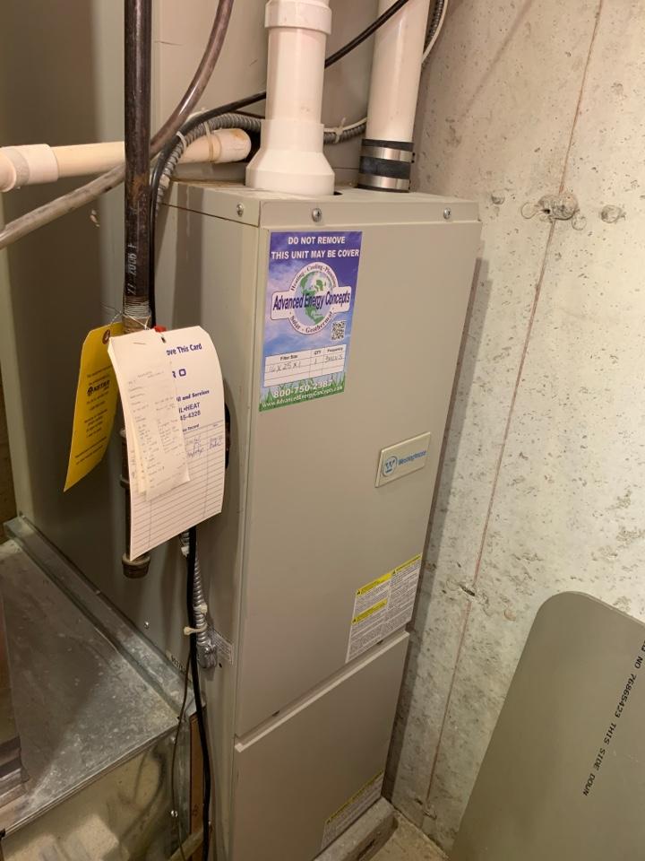 Hopedale, MA - Performed preventative maintenance procedures on Westinghouse nat gas furnace