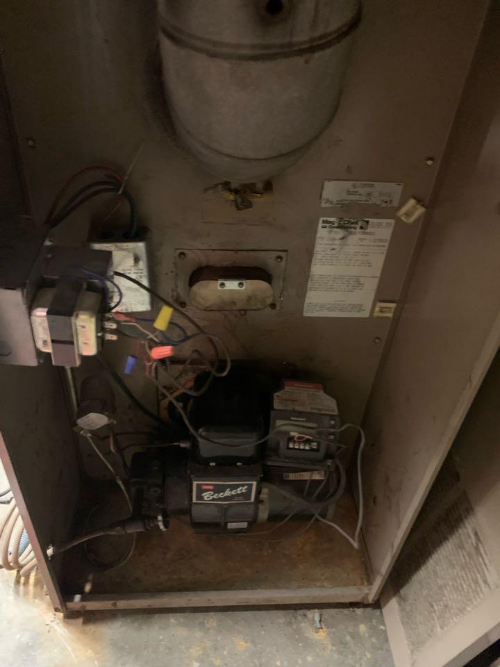 Lunenburg, MA - Lennox oil furnace cleaning