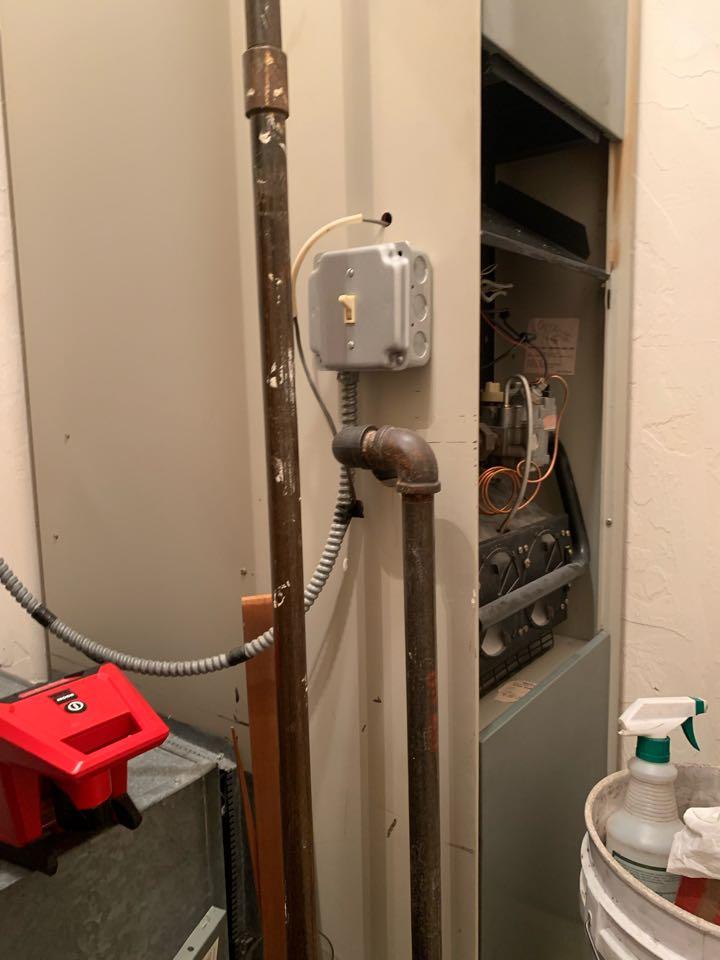 Worcester, MA - Preventative maintenance on a gas Heat Controller