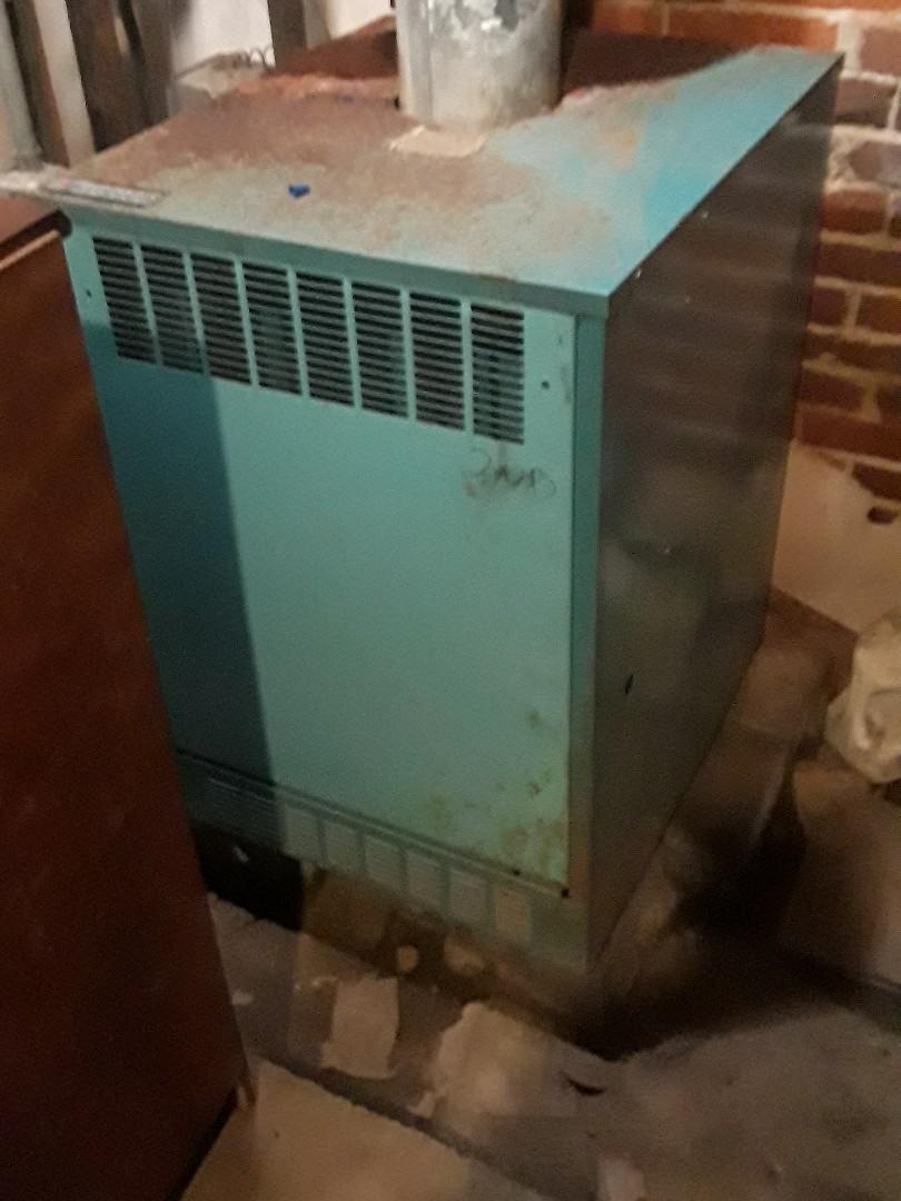 Hudson, MA - Clean and check Burnham gas heating unit