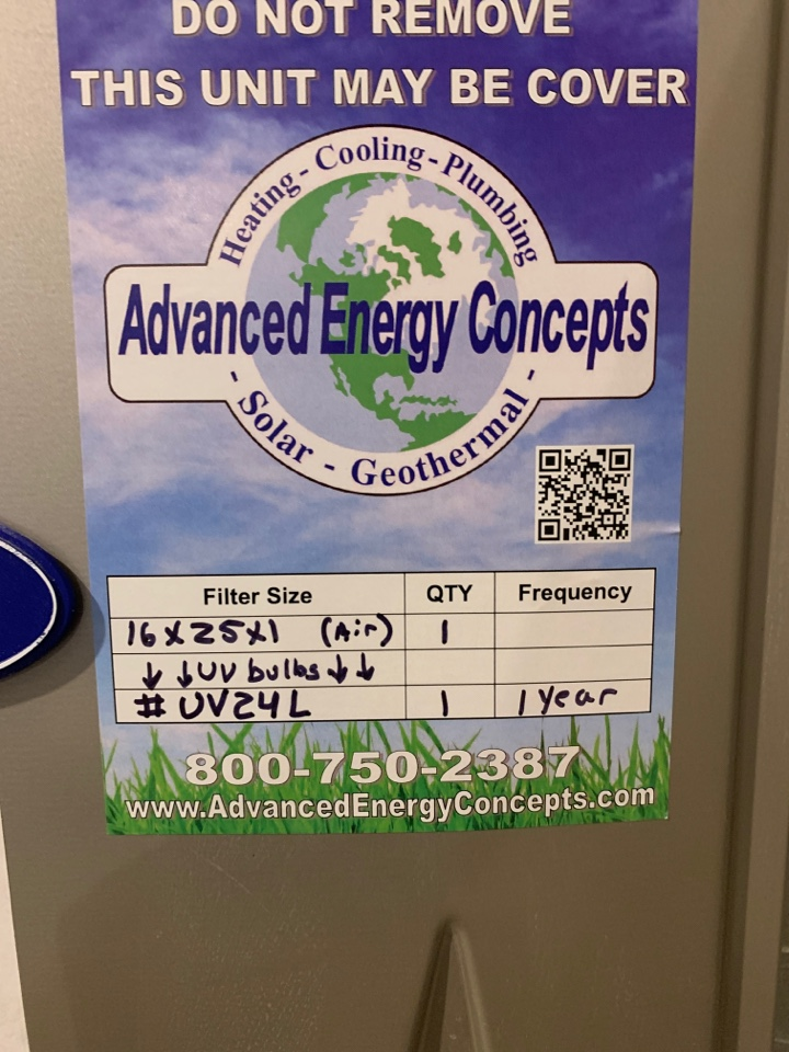 Westborough, MA - Filter change uv light bulbs replacement