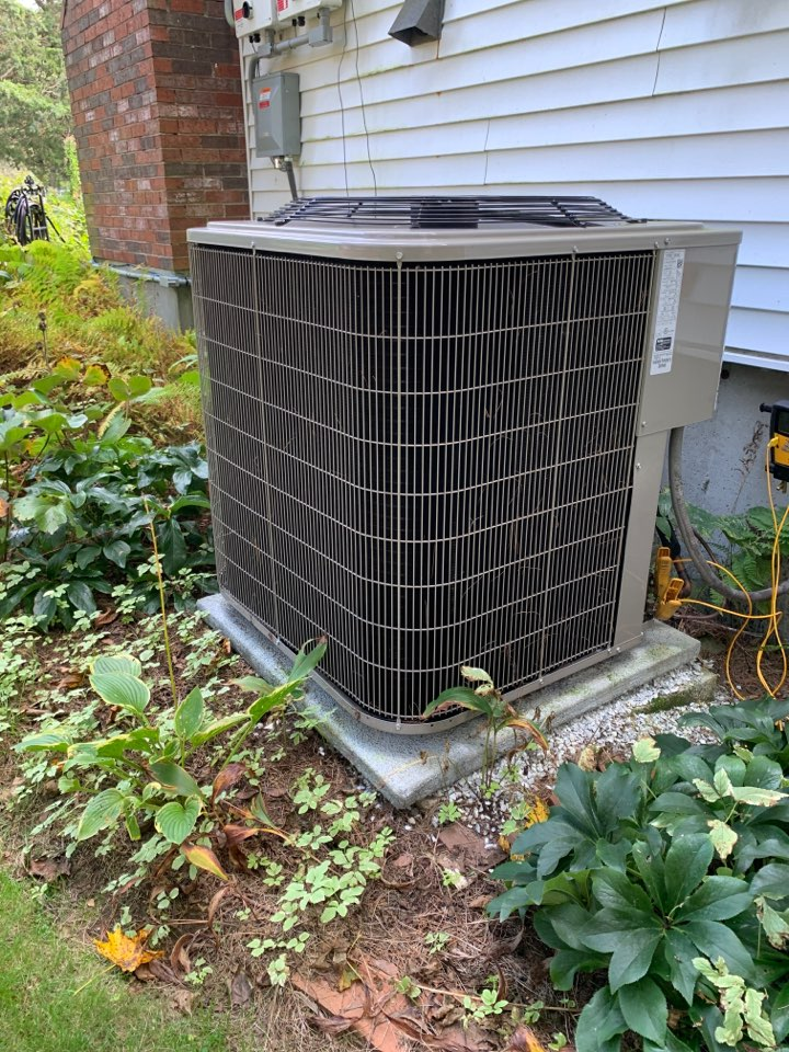 Northborough, MA - Performed preventative maintenance procedures on Bryant air conditioning system