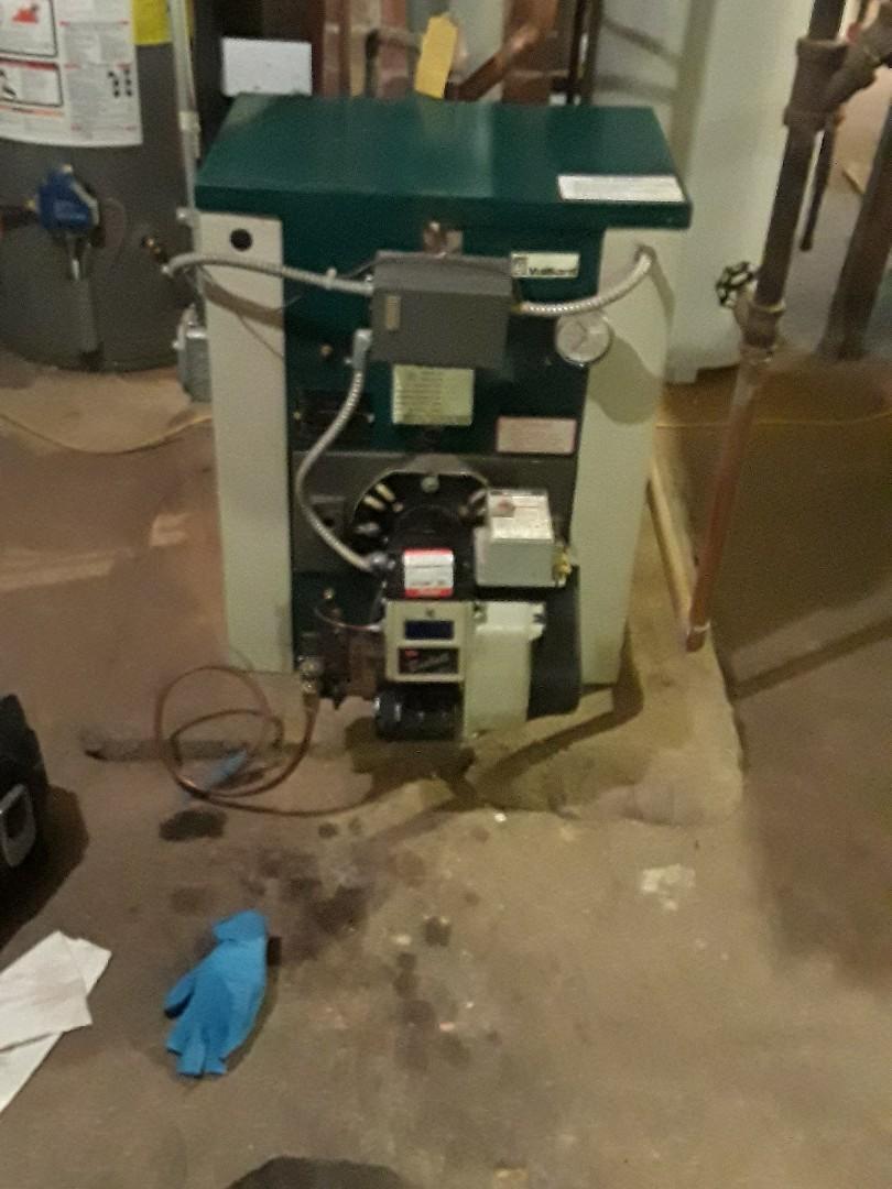 Shrewsbury, MA - Repair on a Vaillant oil boiler