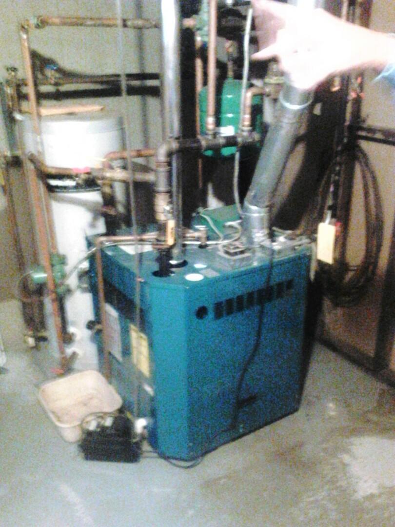 Milford, MA - Maintenance Burnham boiler rv5ni-l2