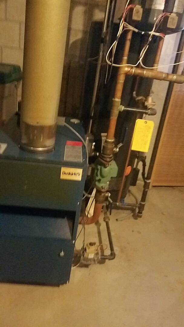 Ashland, MA - Service a dunkirk boiler and a ruud gas hot water heater