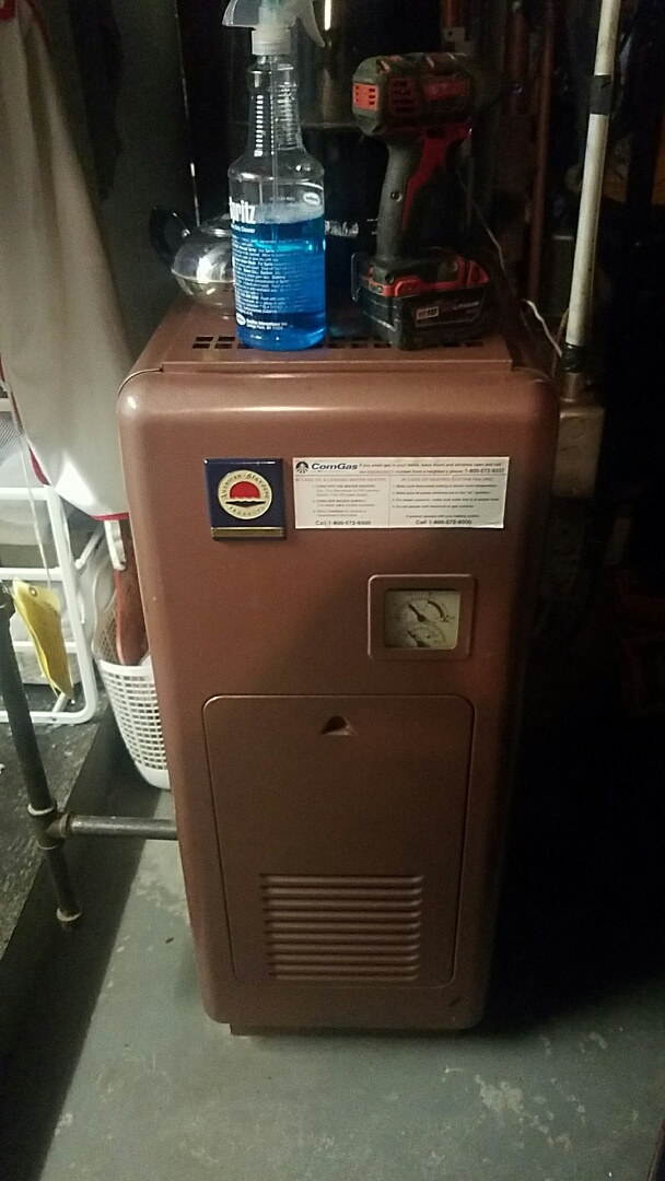 Ashland, MA - Service an american standard gas boiler and a ruud gas hot water heater