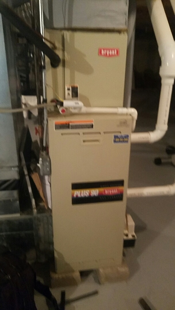 Westborough, MA - Service a bryant gas furnace and a  state gas hot watwr heater