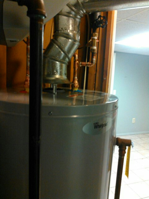 Hudson, MA - Preformed hot water heater install