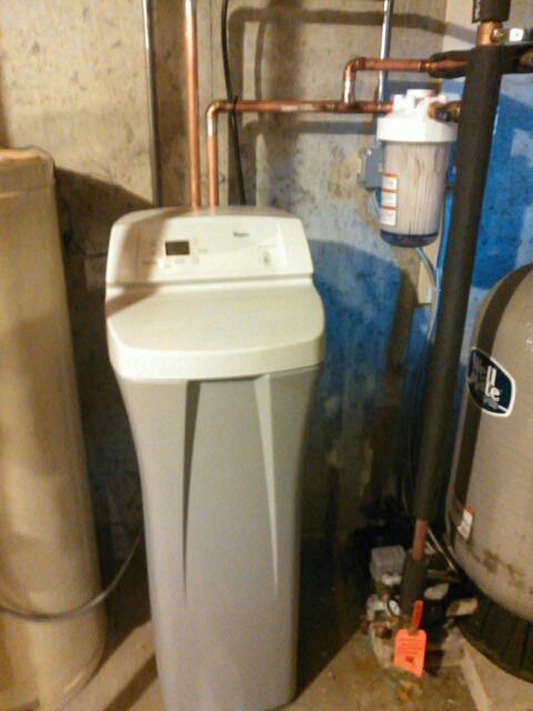 Bolton, MA - Water softener install