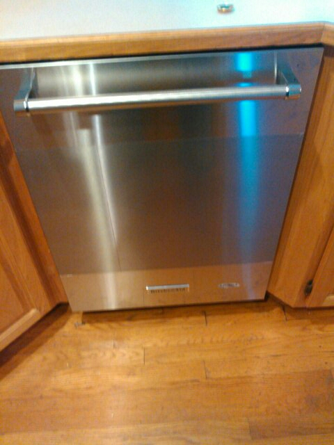 Acton, MA - Install dishwasher