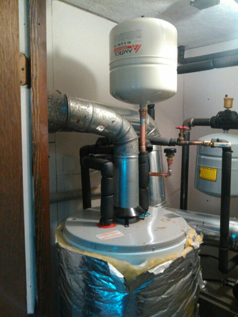 Marlborough, MA - Installing a thermo expansion tank