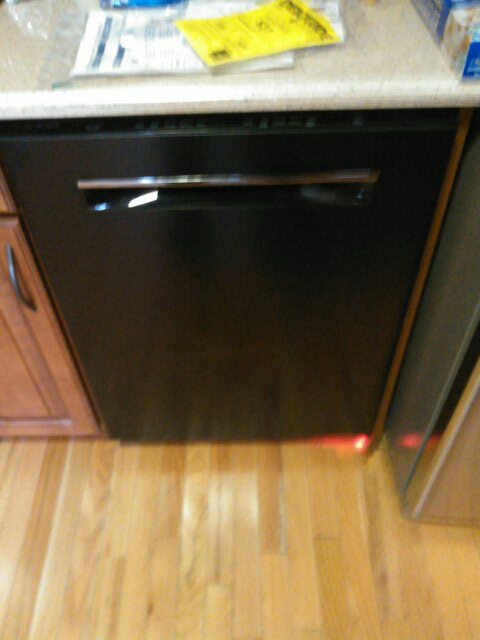 Leominster, MA - Installing a dishwasher