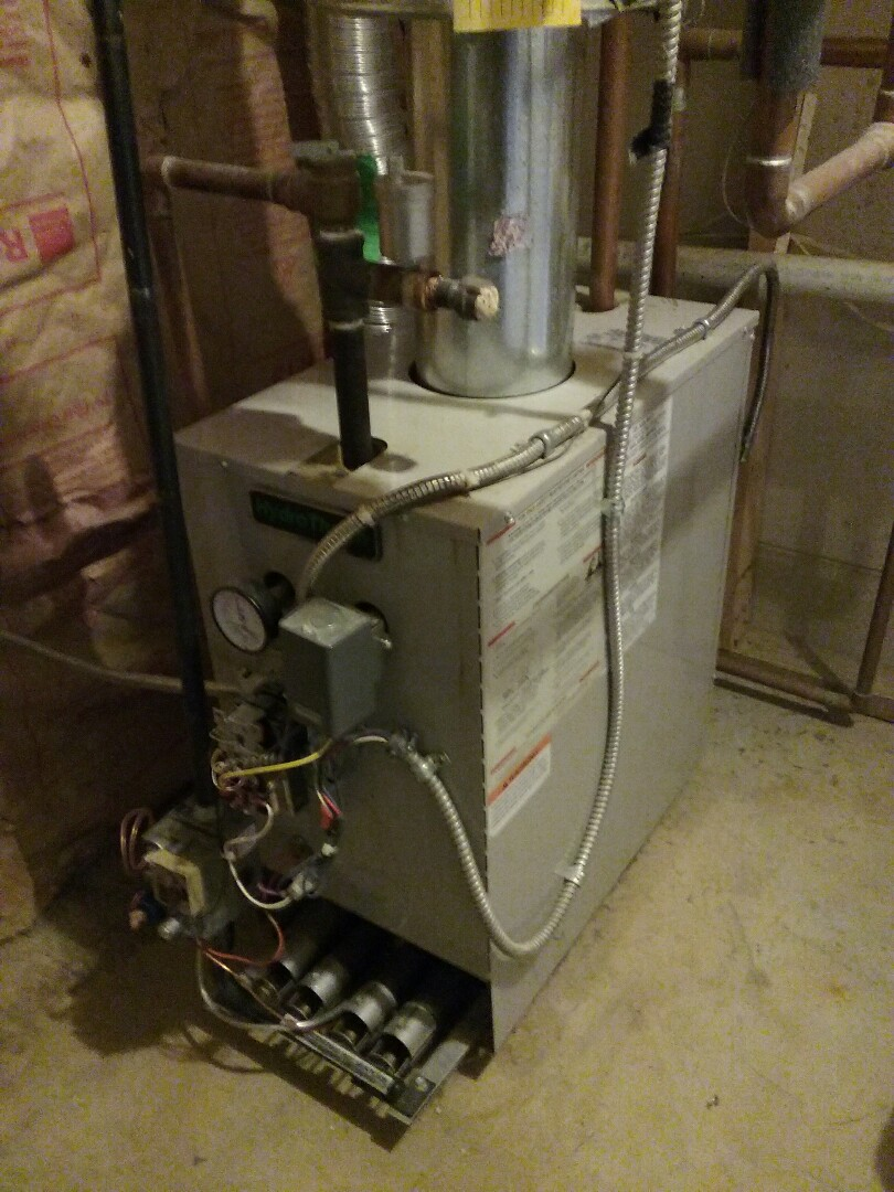 Marlborough, MA - Cleaned and checked  gas boiler.