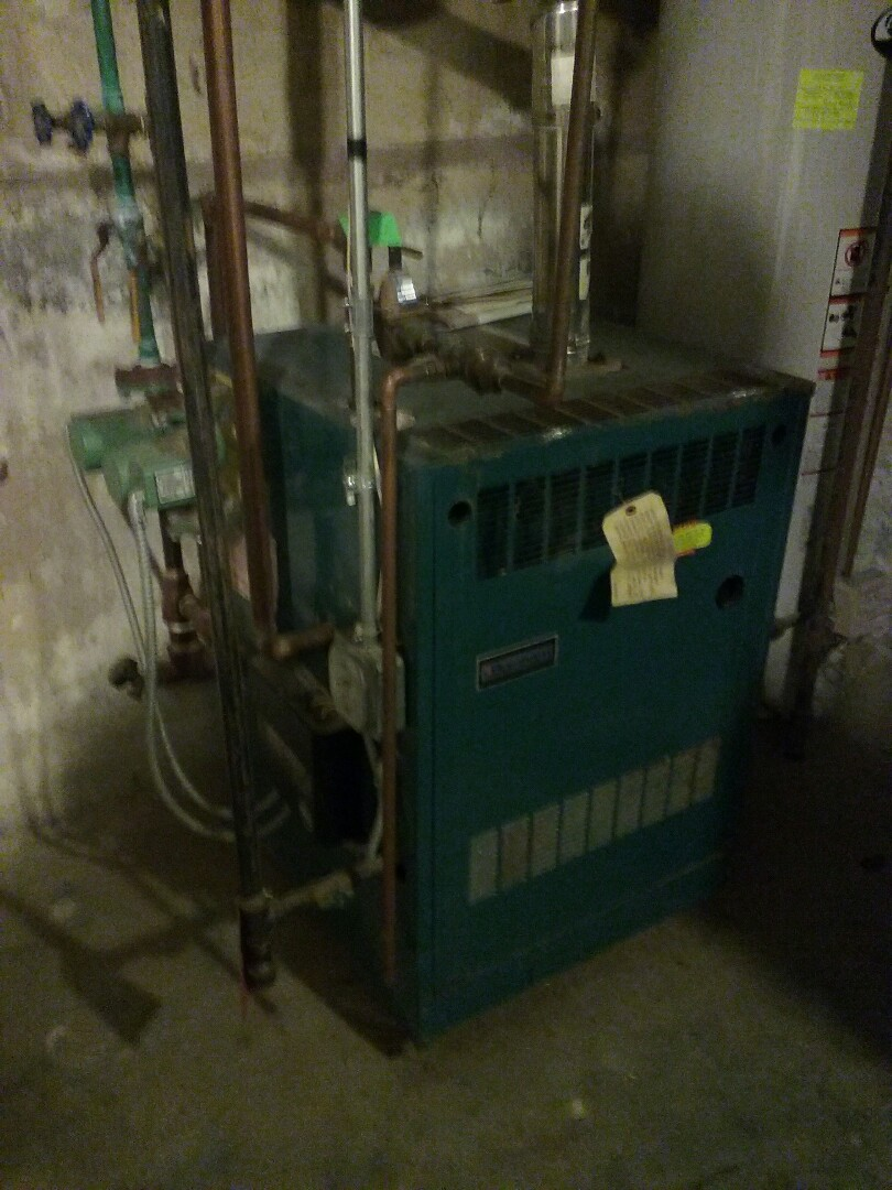 Westborough, MA - Cleaned and checked gas boiler