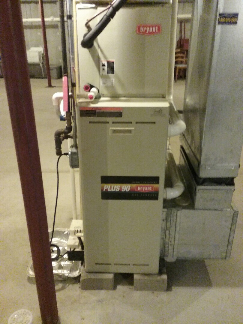 Westborough, MA - Cleaned and checked gas air furnace