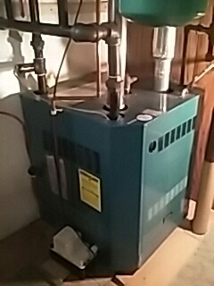 Marlborough, MA - Replacing main circulator pump on a Burnham gas Boiler
