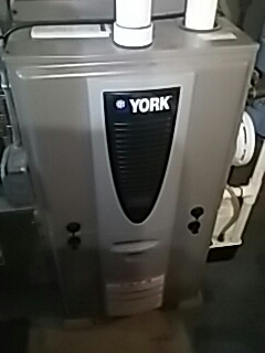 Marlborough, MA - Heat repair on a York 90 plus gas furnace