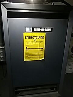 Dudley, MA - Clean and check Weil Mclain gas boiler