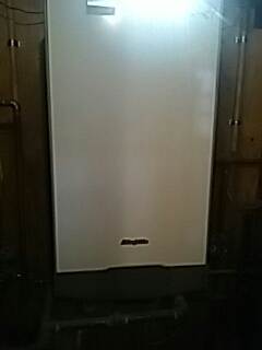Ashland, MA - Clean and check TriangleTube wall hung unit
