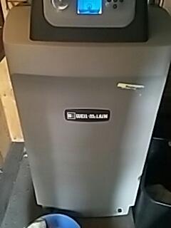 Shrewsbury, MA - Heat repair on Weil Mclain gas boiler