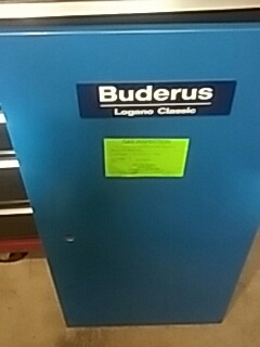 Shrewsbury, MA - Clean and check Buderus Logano Classic gas boiler