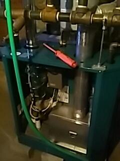 Ayer, MA - Clean and check Burnham gas boiler