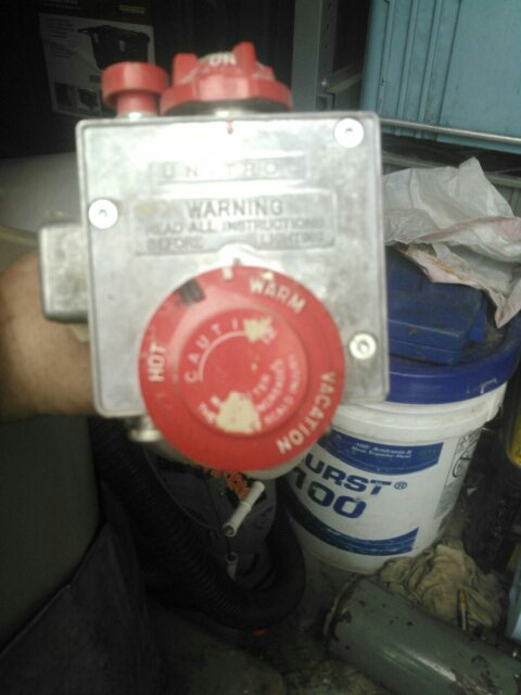 Grafton, MA - Replace gas control on a hot water heater