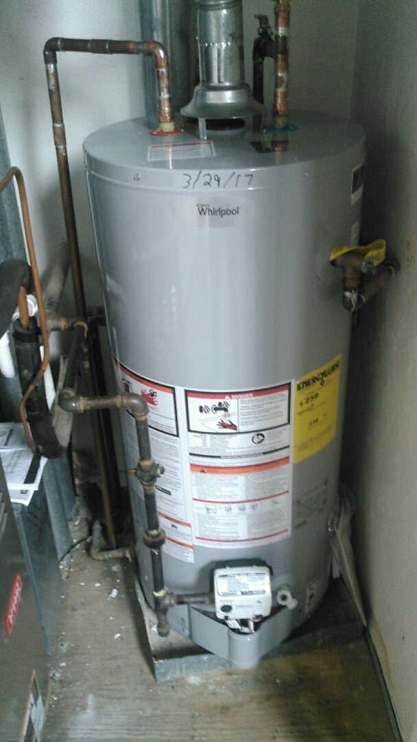 Leominster, MA - Installing a hot water heater