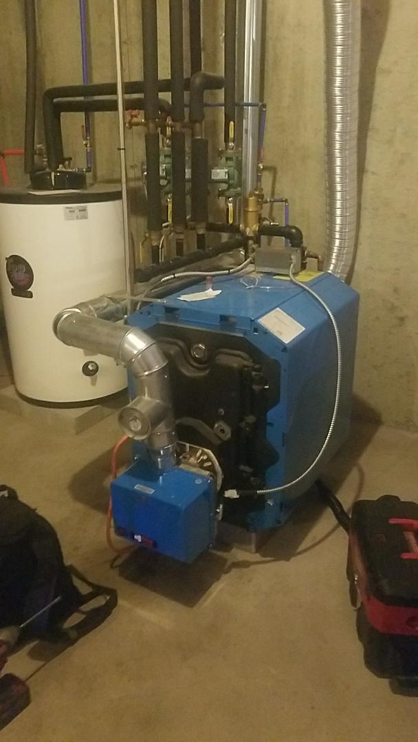 Grafton, MA - Service buderus oil boiler