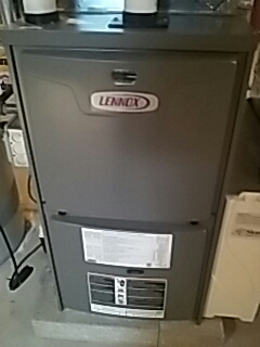 Leominster, MA - Clean and check Lennox gas heating system and A/C