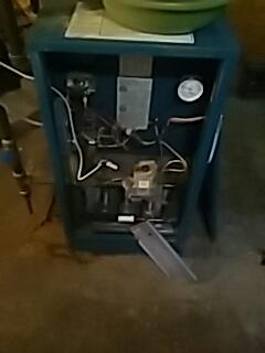 Worcester, MA - Heat repair on Burnham gas boiler