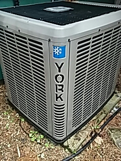 Stow, MA - Clean and check York a/c unit