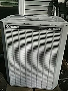 Shrewsbury, MA - Clean and check trane heat and a/c system