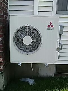 Lunenburg, MA - Clean and check Mitsubishi mini split system