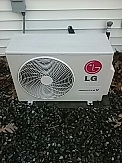 Boxborough, MA - Clean and check LG mini split system