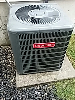 Worcester, MA - Clean and check Goodman a/c system