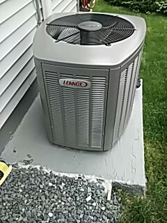 Framingham, MA - Clean and check Lennox a/c unit