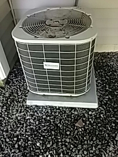 Northborough, MA - Repair on a Frigidaire AC unit