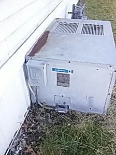 Shirley, MA - Clean and check Comfortaire ac unit