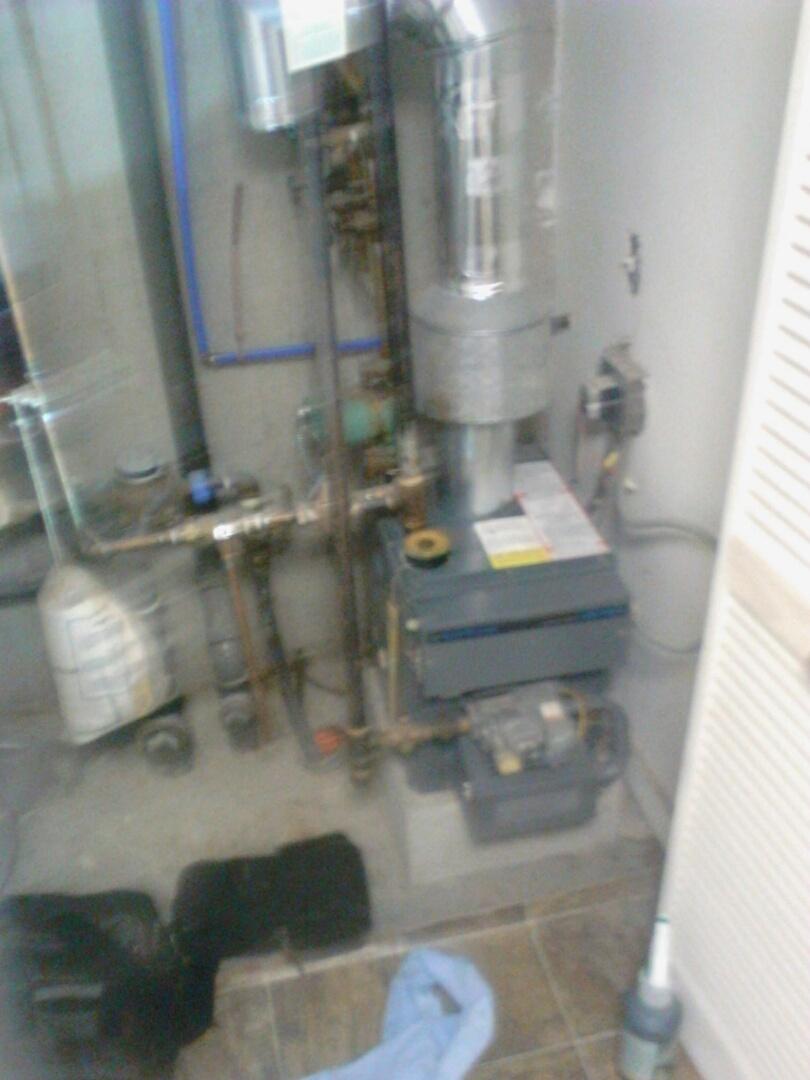Worcester, MA - Maintenance on a Teledyne laars boiler model number jvt 75c