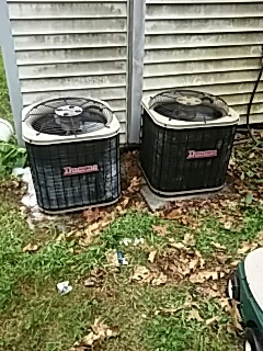 Leominster, MA - Clean and check Ducane ac units